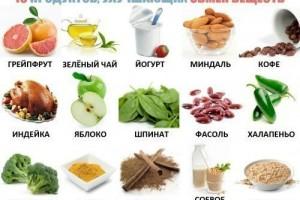 Продукты сжигающие жиры: для быстрого похудения и ускорения метаболизма