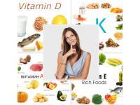 Жирорастворимые витамины - виды, роль в организме человека.